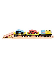 Car Loader Wooden Train Accessory