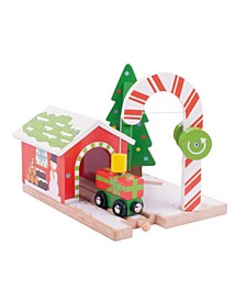 Candy Crane Wooden Train Accessory