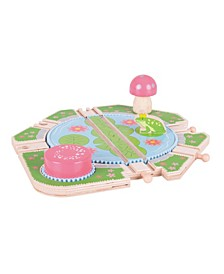 Lily Pad Turntable Wooden Train Accessory