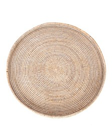 Rattan Round Tray