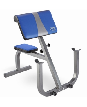 The Pure Fitness Preacher Curl Bench combines comfort and durability with ease of movement for the most effective bicep and forearm workouts possible.