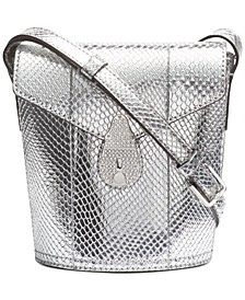Lock Mini Bucket Bag
