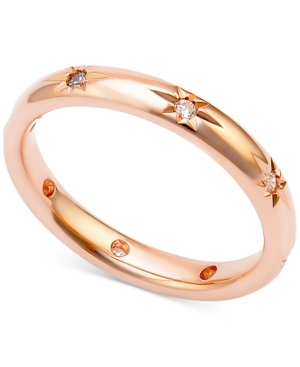 Diamond Band (1/8 ct. t.w.) in 18k Rose Gold