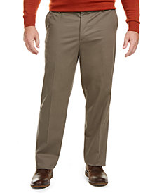 Dockers Men's Big & Tall Signature Lux Cotton Classic Fit Creased Stretch Khaki Pants