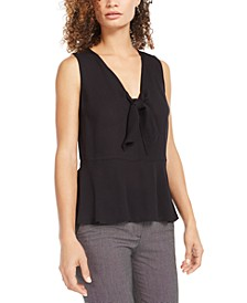 Sleeveless Peplum Top, Created For Macy's