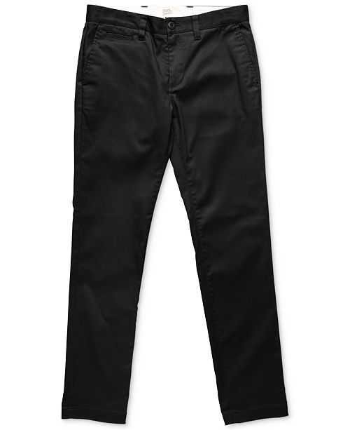 Deus Ex Machina Men's Ford Slim-Fit Chino Pants