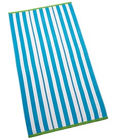 Cabana Stripe Beach Towel, Created for Macy's