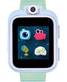 Kid's PlayZoom Green Holographic Resin Strap Smart Watch 52mm