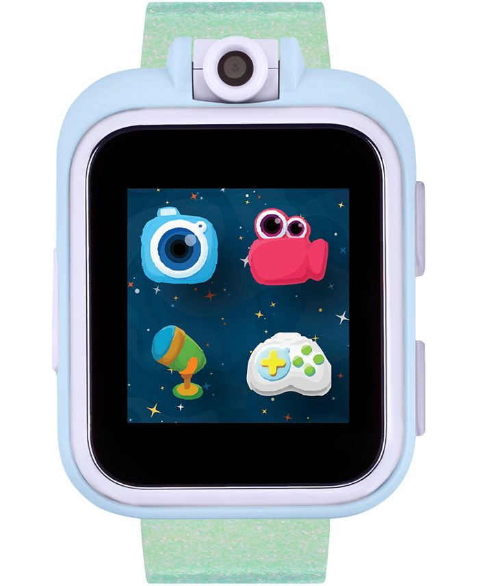 iTouch - Kid's PlayZoom Green Holographic Resin Strap Smart Watch 52mm