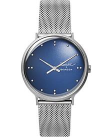 Men's Finn Juhl Stainless Steel Mesh Bracelet Watch 40mm