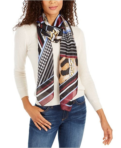INC International Concepts INC Animal Status Printed Scarf, Created For Macy's