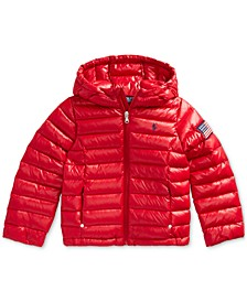 Toddler Girls Packable Quilted Down Jacket