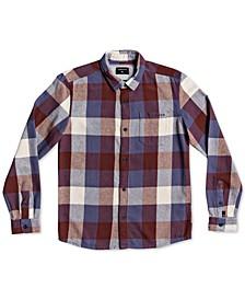 Big Boys Cotton Plaid Flannel Shirt