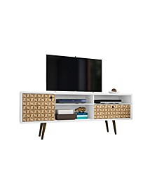 """Liberty 70.86"""" Mid Century - Modern TV Stand with 4 Shelving Spaces and 1 Drawer"""