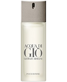 Receive a Complimentary Acqua di Giò Pour Homme Eau de Toilette Travel Spray with any large spray purchase from the Giorgio Armani Men's Fragrance Collection