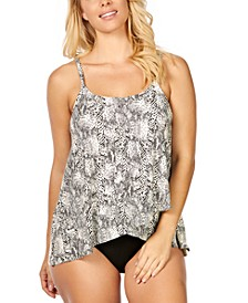 Snaked Printed Cape Town Tankini  & Bottoms, Created For Macy's