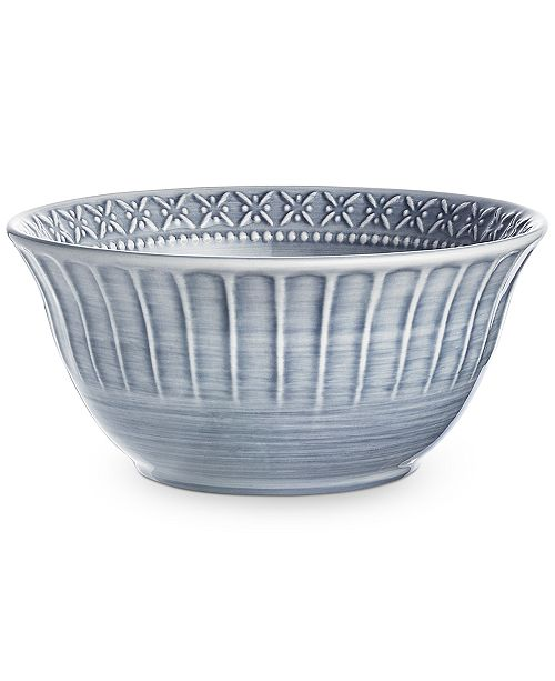 Hotel Collection Classic Brush Cereal Bowl, Created For Macy's