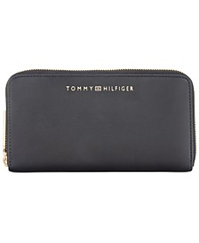 Penelope Double Zip Wallet