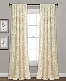 "Ruffle Diamond 54"" x 95"" Curtain Set"