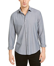 Men's Knit Long Sleeve Shirt, Created For Macy's