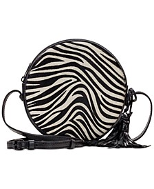 Zebra Haircalf Scafati Crossbody