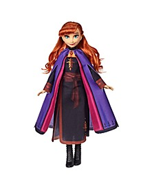 Disney Anna Fashion Doll With Long Red Hair and Outfit Inspired by Frozen 2 Movie