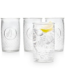 Bee Highball Glasses, Set of 4, Created for Macy's