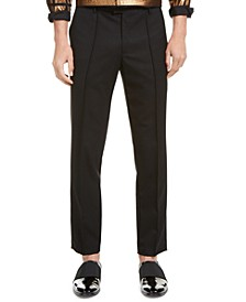 INC ONYX Men's Slim-Fit Pintuck Pleated Pants, Created for Macy's