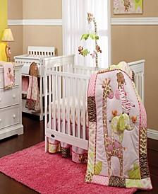 Jungle Collection 7-Piece Crib Bedding Set