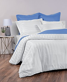 Stripe Supima Cotton 550-Thread Count 3-Pc. Bedding Collection