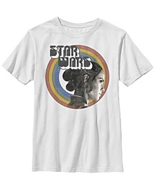 Big Boys Retro Rainbow Rey Short Sleeve T-Shirt