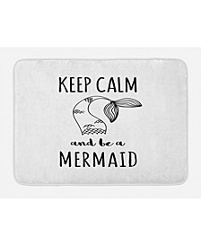 Keep Calm Bath Mat