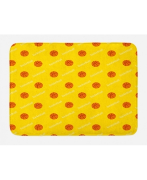 Ambesonne Basketball Bath Mat Bedding
