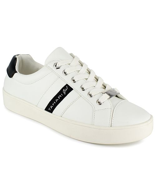 Tahari Girls Analise Lace Up Sneakers