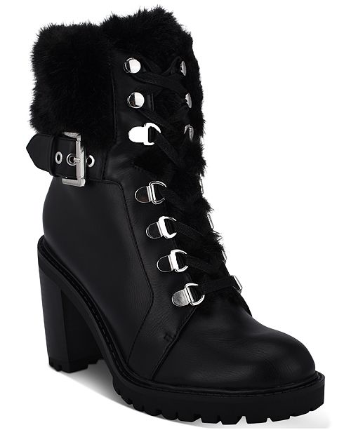 entire collection more photos thoughts on GUESS Women's Geisha Block Heel Booties & Reviews - Boots - Shoes ...