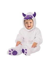 Toddler Girls and Boys Yeti Deluxe Costume