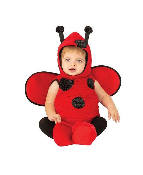 BuySeasons Toddler Girls and Boys Ladybug Deluxe Costume