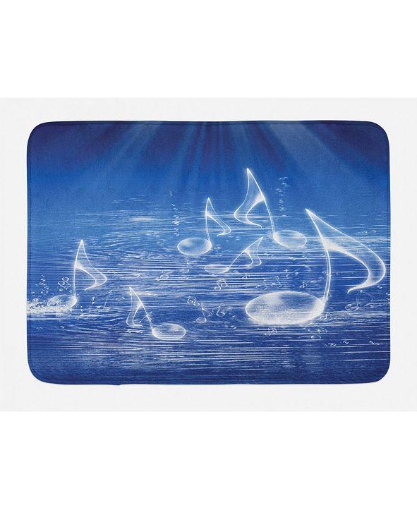 Ambesonne Music Bath Mat