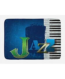 Jazz Music Bath Mat