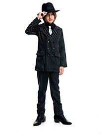 Big and Toddler Boys Gangster Suit Costume