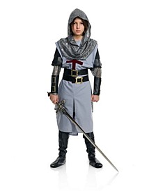 Big and Toddler Boys Chivalrous Knight Costume