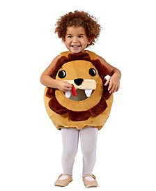 Big Girls and Boys Feed Me Lion Costume