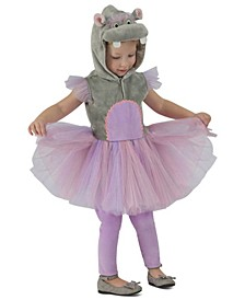 Baby Girls Princess Hippo Costume
