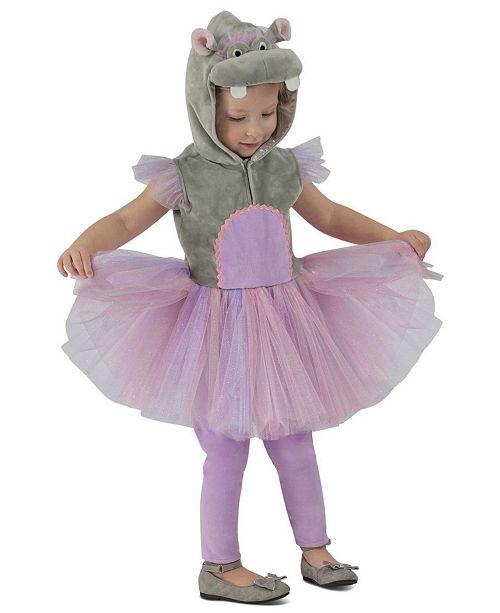 BuySeasons Baby Girls Princess Hippo Costume