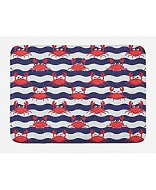 Crabs Bath Mat