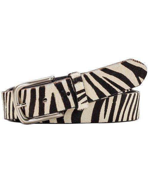 Patricia Nash Zebra Belt
