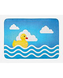 Ambesonne Rubber Duck Bath Mat