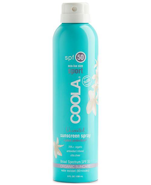 COOLA Classic Body Organic Sunscreen Spray SPF 50 - Eco Lux