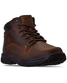 Men's Relaxed Fit Segment Garnet Ankle Boots from Finish Line