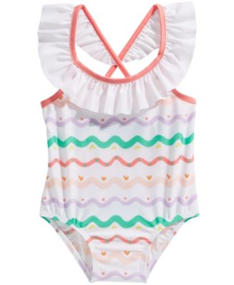 First Impressions Baby Girls 2 Pc Tankini Swimsuit Set Choose Size